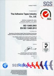 SGS ISO13485:2003