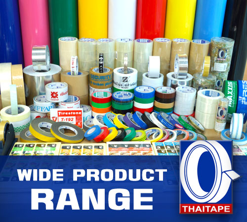 Wide product range